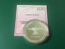 Malaysia F1 Proof Coin Single Silver - COA2181