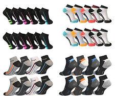 12 bis 48 Paar Damen Herren Sneaker Socken Sport Füßlinge Kurzsocken Baumwolle
