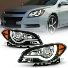 Headlight Kit For 2006-2008 Chevrolet Malibu Left and Right 4Pc