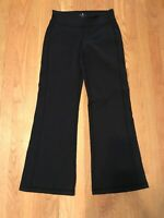 Athleta Size Small S Pants Black Stretch Wide Leg Yoga Athleisure Sport