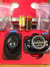 KICKER FX-46 COPPIA ALTOPARLANTI COASSIALI ELLITTICO 10x15cm OVALI 2-WAY NEW