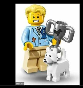 Lego Collectible Minifigure Series 16 Dog Show Winner