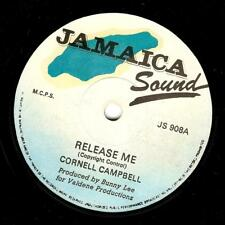 CORNELL CAMPBELL Release Me Vinyl Record 7 Inch Jamaica Sound JS 908 1978