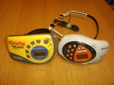 Sony FM/AM Radio SRF-M78 & SRF-M80 with MDR-W014 headphones