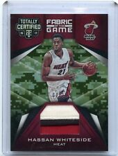 2016-17 TOTALLY CERTIFIED #5 HASSAN WHITESIDE 3-COLOR PATCH SP #7/25, MIAMI HEAT
