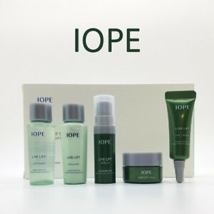 IOPE LIVE LIFT SPECIAL GIFT 5 ITEMS  Smooth Skin Improvement of wrinkles KOREA