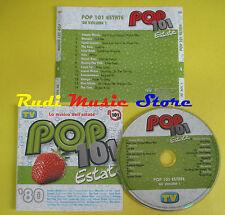 CD POP 101 'ESTATE '80 compilation SIMPLE MINDS BLONDIE LAUPER no lp mc (C14**)