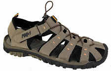 Mens Walking Sandals Grey Adventure Sports Shoes Holiday Leisure Summer PDQ