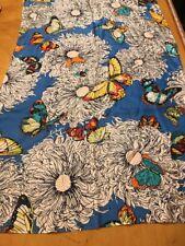 Echo Silk Scarf Scarf Butterfly & Flowers K328