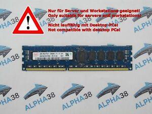 SKhynix 4 GB DDR3-1600 PC3-12800R HMT351R7CFR8C-PB CL11 Server RAM Memory