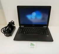"Dell Latitude 7250 12.5"" HD Laptop Intel i7-5600U 2.6Ghz 8GB 256GB SSD WIN 10"