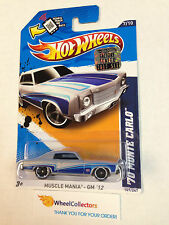 2012 Hot Wheels FACTORY SET * '70 Monte Carlo * GREY/Blue Walmart Only * D46
