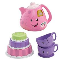 Fisher-Price Laugh and Learn Smart Stages Tea Set , New, Free Shipping