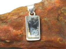 Scenic  AGATE  Sterling Silver  925  Gemstone  PENDANT - Gift  Boxed!!