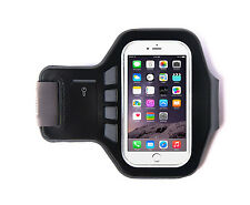 "Ultimate Negro Iphone 6 (4,7 "") de neopreno transpirable Brazalete Para Correr Running 44cm"