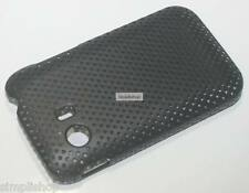 Perforated Hard Back Cover Net Mesh Case For Samsung Y Young S5360(Black)