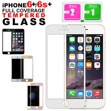 Gold Mobile Phone Screen Protectors for Apple iPhone 6s Plus