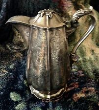 Antique Coin Silver Pitcher Philadelphia Pa Bailey & Kitchen