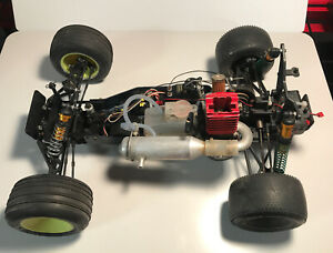 Vintage Team Associated RC10GT Factory Team Blue Tub Chassis roller Gas Truck