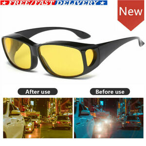 Night Vision Driving Glasses Anti Car High beam Glare Mirror Sunglass Mirror UV