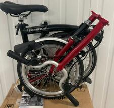 Brompton H6L Red/ Black 6 Speed fold bike + £35 UK & WORLD P&P ???