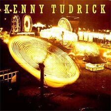 "Church Hill Downs/Fairground Kenny Tudrick Yellow & Black Swirl 7"" Vinyl LTD NEW"