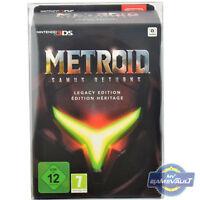 Metroid: Samus Returns Legacy BOX PROTECTOR for Nintendo 3DS 0.5mm PLASTIC CASE