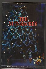 1988 Program The Nutcracker New York City Ballet NY State Theater