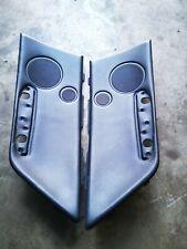 BMW E46 convertible rear door panel insert black