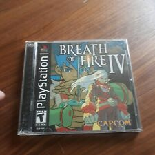 Breath of Fire 4 IV PS1 US/NTSC great cond/no scratches on CD