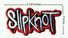 Slipknot Rock Band Embroidery Logo iron , sewing,patches on clothes