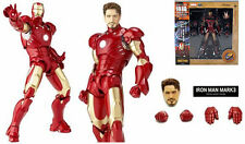 IRON MAN SCI-FI REVOLTECH/ FIGURA NO.036 IRON MAN III 15 CM- MK3 IN BOX 6""