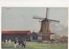 Zaandam Netherlands Vintage Postcard 405b