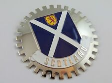Scotland Grille Badge for car truck grill mount Scottish flag