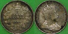 1902 Canada Silver Nickel Graded as Very Fine