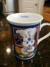 Pillsbury Doughboy Calendar Mug October Ships Free!