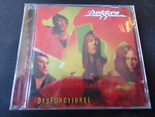 Dokken - Dysfunctional (SEALED NEW CD 2011) LYNCH MOB GEORGE DON WAR & PEACE