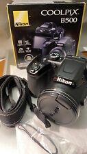 Nikon Coolpix B500 16MP 40x Zoom Ottico Wide Full HD Wi-Fi Digital Camera