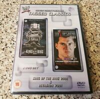 NEW WWE Tagged Classics King Of The Ring 2001 & Invasion 2001 (DVD) RARE BARGAIN