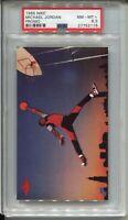 1985 Nike Basketball #2 Michael Jordan Rookie Card RC Graded PSA NM MINT+ 8.5