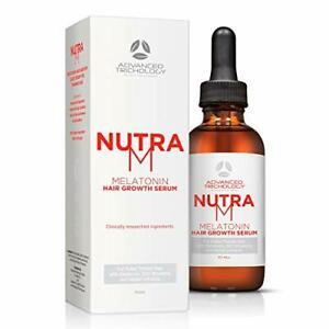 NutraM Hair Regrowth Serum for Thinning Men and Women - Topical DHT...