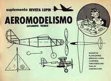 MODELLISMO AEREO Aeromodelismo 196x Supplemento rivista Lupin (spa) DVD