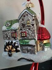 Night Before Christmas Dickens Village Mill Ornament Ltd Edition #6875 of 25000