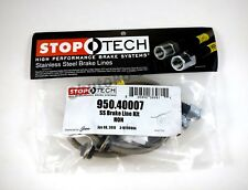 STOPTECH STAINLESS STEEL FRONT BRAKE LINES FOR 96-00 HONDA CIVIC EX 2DR COUPE
