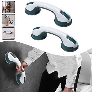 2x Badewannen Haltegriff Saugnapf Badezimmer Wannengriff Duschgriff Sauggriff