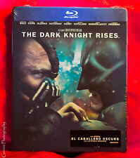 The Dark Knight Rises - Limited Steelbook Edition [Blu-ray] Region Free NEW