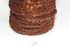 15ft Brass Red Copper 3.5x2.5m Chain Links 1-3 day Ship