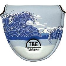 TOBIEMON Japan Golf Putter Cover Headcover Mallet Ukiyoe Japanese