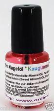 4,5ml Nagelöl, Duft: Kaugummi, Pflege für die Nägel, 4,5 ml Nagel Öl, Nr. 35