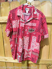 Island Reserve Collection Men's Hawaiian Shirt Made in Hawaii Size Large